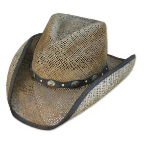 Sombrero paja cowboy - Country and Roses - Key Largo - 1
