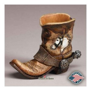 Palillero decorativo Country Boot Bowl Horse