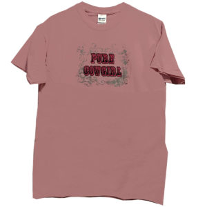 Camiseta rosa mujer country - Tienda Country and Roses - Pure Cowgirl -1