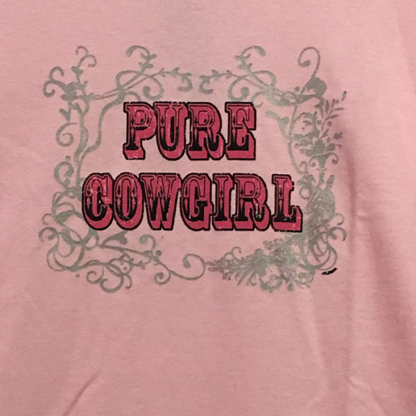 Camiseta rosa mujer country - Tienda Country and Roses - Pure Cowgirl -2