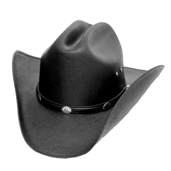Sombrero negro vaquero - Country and Roses - Cattleman Black - 1
