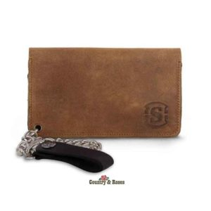 Cartera marrón Sendra Sp Tang Grabada