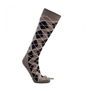Calcetines gris para botas Grey Diamond