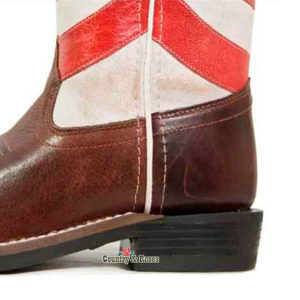 Botas bandera americana infantiles - Country and Roses - Old West - 2