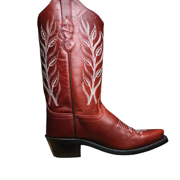 Botas rojas cowgirl country -Country and Roses- Red Cloud - 1