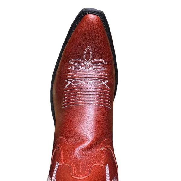 Botas rojas cowgirl country -Country and Roses- Red Cloud - 2