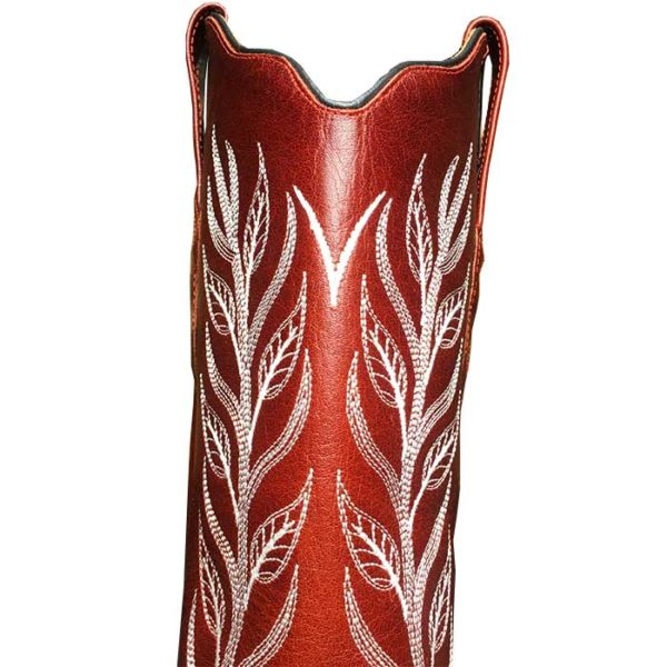 Botas rojas cowgirl country -Country and Roses- Red Cloud - 4