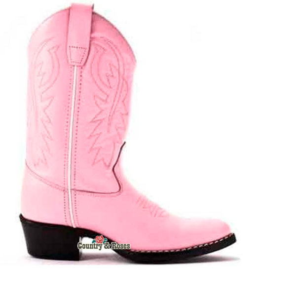 Botas rosas infantiles - Country and Roses - Little Pink - 1