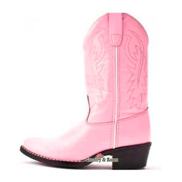 Botas rosas infantiles - Country and Roses - Little Pink - 3