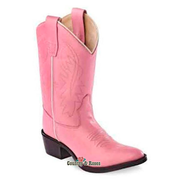 Botas rosas infantiles - Country and Roses - Little Pink - 4