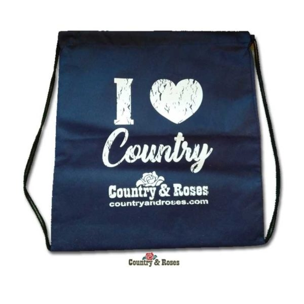 Bolsa Country And Roses para botas o sombrero