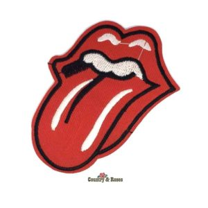 Parche adhesivo lengua Rolling Stones