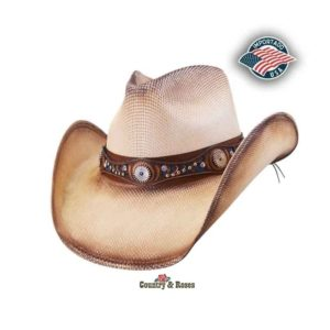 Sombrero vaquero de canvas Shelby