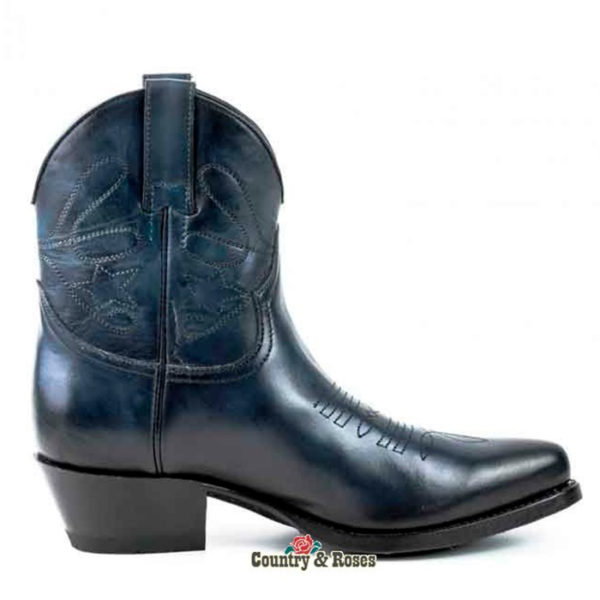 botines-cuero-azul-oscuro-cowgirl-country-and-roses-owens-3