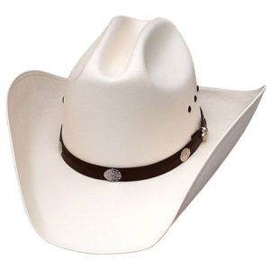 Sombrero blanco tejano - Country and Roses - Rodeo White - 1