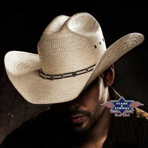 Sombrero vaquero paja cowboy - Country and Roses - Curtis - 2