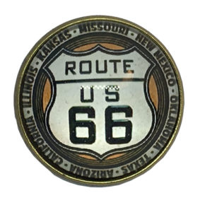Broche de la Ruta 66 motos moteros - Country and Roses - Will Rogers - 1