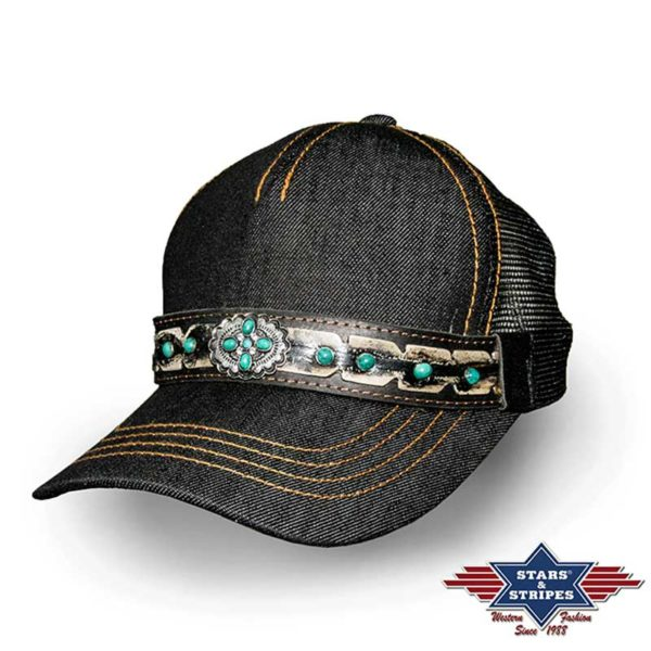 Gorra Béisbol Negro - Country and Roses - Wichita