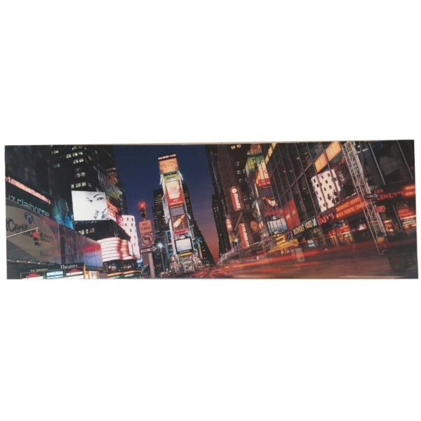 Cuadro Times Square - Country and Roses - Noche