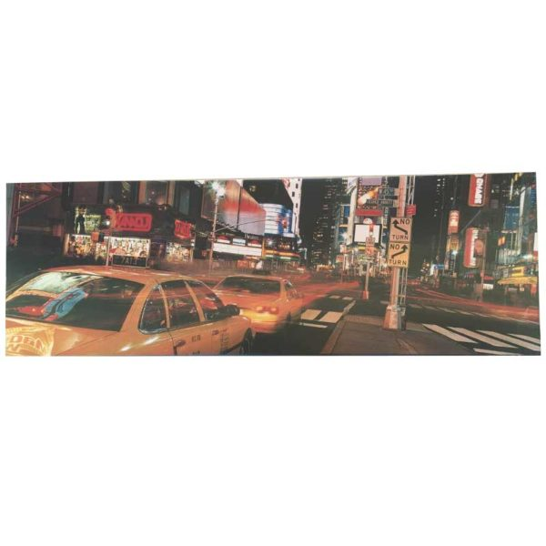 Cuadro Times Square - Country and Roses - Taxi