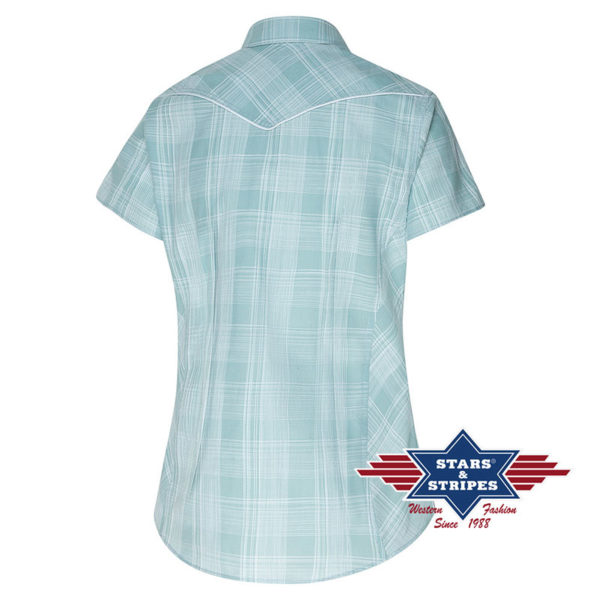 Camisa azul cowgirl - Country and Roses - Annetta - 2