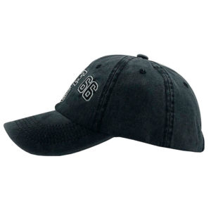 Gorra de la Ruta 66 - Country and Roses - Negra - 2