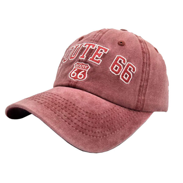 Gorra de la Ruta 66 - Country and Roses - Rosa - 2