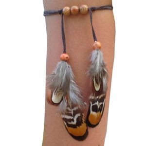 Brazalete plumas - Country and Roses - Feather Hoop - 1