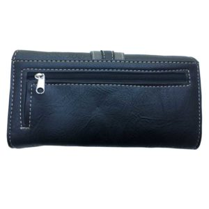 Bolso - Country and Roses - Black Flowers Dolly Wallet - 2