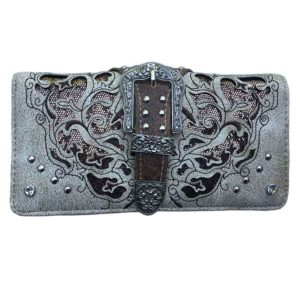 Bolso - Country and Roses - Crude Dolly Wallet - 1